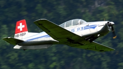 Photo ID 187217 by Sven Zimmermann. Private P 3 Flyers Pilatus P 3 05, HB RBP