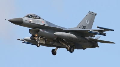 Photo ID 187242 by Rainer Mueller. Netherlands Air Force General Dynamics F 16AM Fighting Falcon, J 006