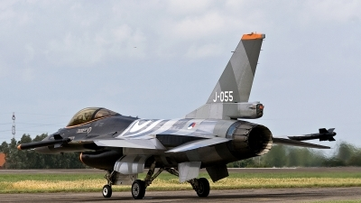 Photo ID 187340 by Jan Eenling. Netherlands Air Force General Dynamics F 16AM Fighting Falcon, J 055