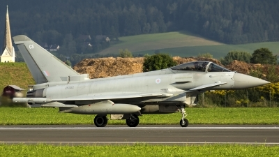 Photo ID 187361 by Thomas Ziegler - Aviation-Media. UK Air Force Eurofighter Typhoon FGR4, ZK322