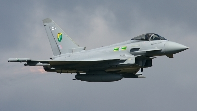 Photo ID 187455 by Rainer Mueller. UK Air Force Eurofighter Typhoon FGR4, ZJ925