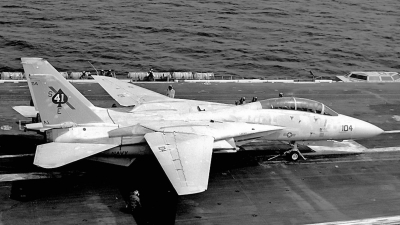 Photo ID 187444 by David F. Brown. USA Navy Grumman F 14A Tomcat, 160394