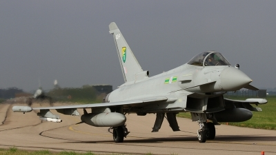 Photo ID 187532 by Barry Swann. UK Air Force Eurofighter Typhoon FGR4, ZK309