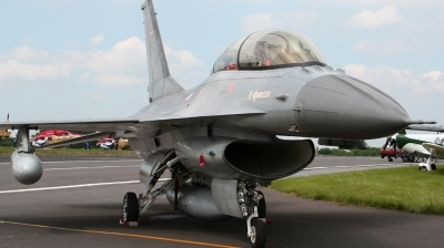 Photo ID 22470 by Dean West. Denmark Air Force General Dynamics F 16BM Fighting Falcon, ET 022