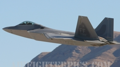 Photo ID 243 by Ralph Duenas - Jetwash Images. USA Air Force Lockheed Martin F 22A Raptor, 05 4084