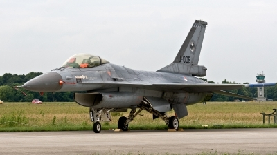 Photo ID 187673 by Jan Eenling. Netherlands Air Force General Dynamics F 16AM Fighting Falcon, J 005
