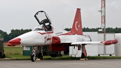 Photo ID 187764 by Jan Eenling. Turkey Air Force Canadair NF 5A 2000 CL 226, 71 3055
