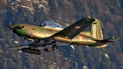 Photo ID 187783 by Patrick Weis. Austria Air Force Pilatus PC 7 Turbo Trainer, 3H FB