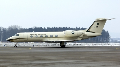 Photo ID 187782 by Joop de Groot. Pakistan Air Force Gulfstream Aerospace G 450 G IV SP, J 756