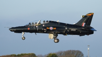Photo ID 187823 by Mike Griffiths. UK Air Force BAE Systems Hawk T 2, ZK025