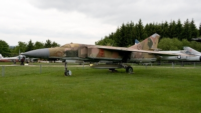 Photo ID 187875 by Jan Eenling. Germany Air Force Mikoyan Gurevich MiG 23ML, 20 19