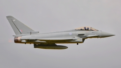 Photo ID 187957 by Radim Spalek. UK Air Force Eurofighter Typhoon FGR4, ZK354