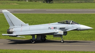 Photo ID 187999 by Thomas Ziegler - Aviation-Media. Austria Air Force Eurofighter EF 2000 Typhoon S, 7L WK