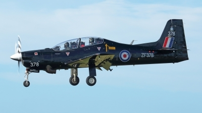 Photo ID 188071 by Mike Griffiths. UK Air Force Short Tucano T1, ZF378