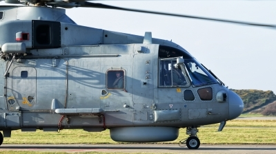 Photo ID 188130 by Mike Griffiths. UK Navy Agusta Westland Merlin HM1 Mk111, ZH827