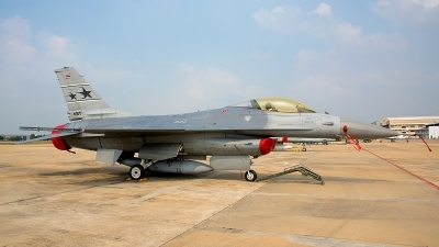 Photo ID 188167 by Gary Ng. Thailand Air Force General Dynamics F 16A ADF Fighting Falcon, 810703