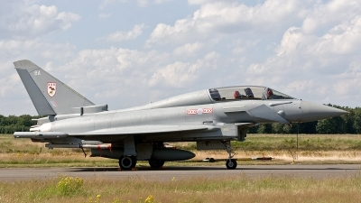 Photo ID 188327 by Jan Eenling. UK Air Force Eurofighter Typhoon T3, ZJ803