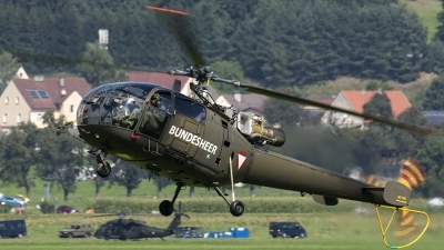 Photo ID 188344 by Thomas Ziegler - Aviation-Media. Austria Air Force Aerospatiale SA 316B Alouette III, 3E KK
