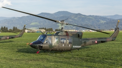 Photo ID 188343 by Thomas Ziegler - Aviation-Media. Austria Air Force Bell 212, 5D HY