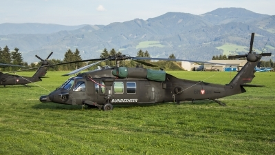 Photo ID 188330 by Thomas Ziegler - Aviation-Media. Austria Air Force Sikorsky S 70A 42 Black Hawk, 6M BH