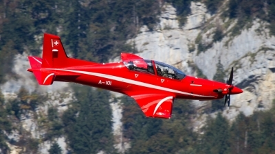 Photo ID 188407 by Agata Maria Weksej. Switzerland Air Force Pilatus PC 21, A 101
