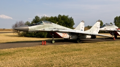 Photo ID 188524 by Jan Eenling. Hungary Air Force Mikoyan Gurevich MiG 29B 9 12A, 20