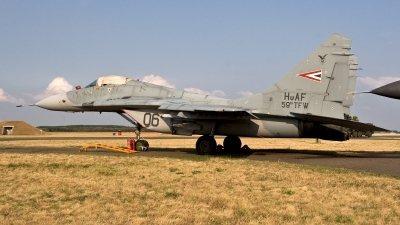 Photo ID 188460 by Jan Eenling. Hungary Air Force Mikoyan Gurevich MiG 29B 9 12A, 06