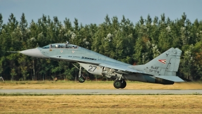 Photo ID 188578 by Radim Spalek. Hungary Air Force Mikoyan Gurevich MiG 29UB 9 51, 27