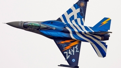 Photo ID 188617 by flyer1. Greece Air Force General Dynamics F 16C Fighting Falcon, 523