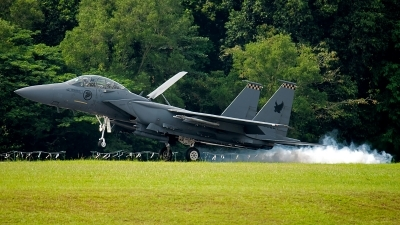 Photo ID 188643 by Gary Ng. Singapore Air Force Boeing F 15SG Strike Eagle, 05 0018