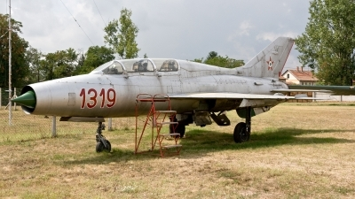 Photo ID 188676 by Jan Eenling. Hungary Air Force Mikoyan Gurevich MiG 21U 400, 1319