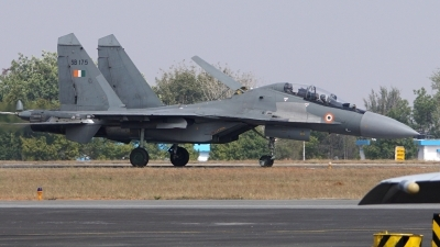 Photo ID 188690 by Lukas Kinneswenger. India Air Force Sukhoi Su 30MKI 3, SB175