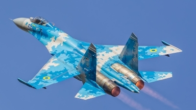Photo ID 188841 by Bartosz Torbicki. Ukraine Air Force Sukhoi Su 27P1M,