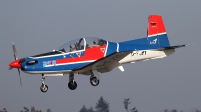 Photo ID 188736 by Jens Wiemann. Company Owned E I S Aircraft GmbH Pilatus PC 9B, D FJMT