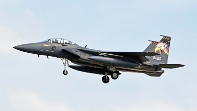 Photo ID 188765 by Marc van Zon. Singapore Air Force Boeing F 15SG Strike Eagle, 8320