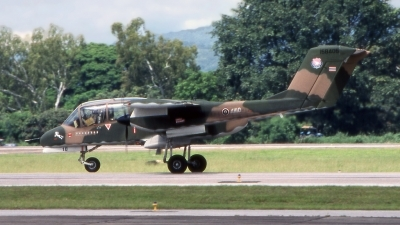 Photo ID 188766 by Marc van Zon. Thailand Air Force North American Rockwell OV 10C Bronco, 158405