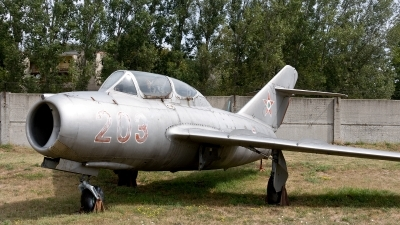 Photo ID 188780 by Jan Eenling. Hungary Air Force Mikoyan Gurevich MiG 15UTI, 203