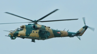 Photo ID 189228 by Radim Spalek. Hungary Air Force Mil Mi 24V, 716