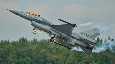 Photo ID 188845 by Radim Spalek. Netherlands Air Force General Dynamics F 16AM Fighting Falcon, J 643