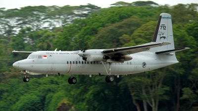 Photo ID 188922 by Gary Ng. Singapore Air Force Fokker 50UTA, 712