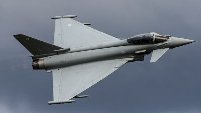 Photo ID 188872 by Thomas Ziegler - Aviation-Media. UK Air Force Eurofighter Typhoon FGR4, ZK354