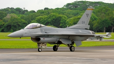 Photo ID 188876 by Gary Ng. Singapore Air Force General Dynamics F 16C Fighting Falcon, 614