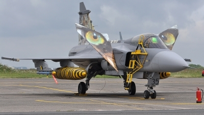 Photo ID 189061 by Eric Tammer. Czech Republic Air Force Saab JAS 39C Gripen, 9235