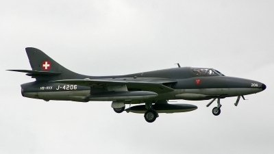 Photo ID 189313 by Jan Eenling. Private Verein Hunter Flying Group Hawker Hunter T68, HB RVV