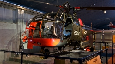 Photo ID 189595 by Jan Eenling. Netherlands Air Force Aerospatiale SA 316B Alouette III, H 20