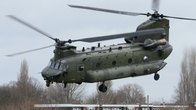 Photo ID 189730 by Mike Hopwood. UK Air Force Boeing Vertol Chinook HC4 CH 47D, ZD575