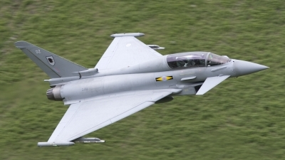 Photo ID 22652 by Tom Gibbons. UK Air Force Eurofighter EF 2000 Typhoon T1, ZJ811