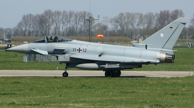 Photo ID 189910 by Arie van Groen. Germany Air Force Eurofighter EF 2000 Typhoon S, 31 12