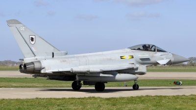 Photo ID 190036 by Bart Hoekstra. UK Air Force Eurofighter Typhoon FGR4, ZJ914