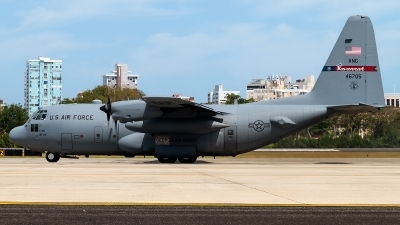 Photo ID 190060 by Hector Rivera - Puerto Rico Spotter. USA Air Force Lockheed C 130H Hercules L 382, 94 6705